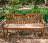 Teak Bench $5,000 Located Garden Wide*