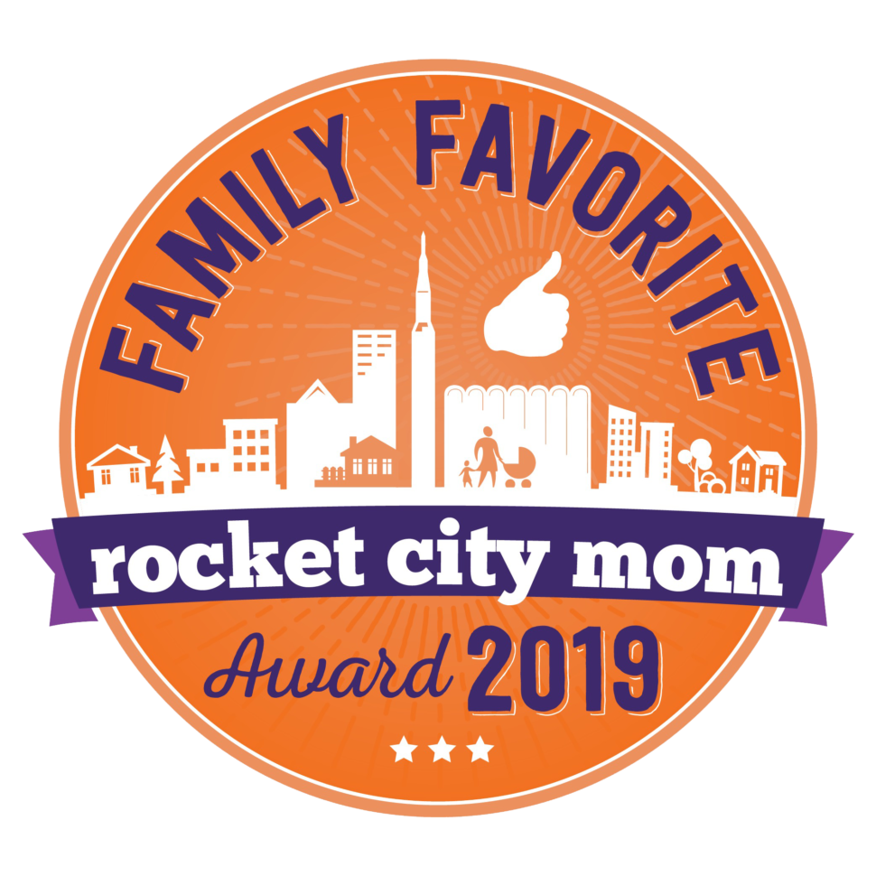 Rocket City Mom Family Favorite Award